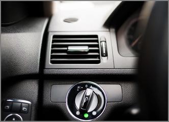 תמונה של מזגן ברכב